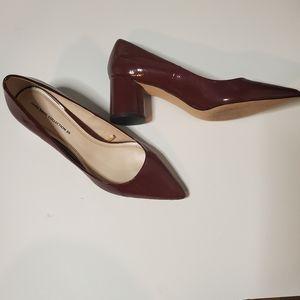 Zara circle block heels size 39